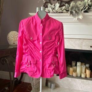 Kerrybrooke Nylon Ultralight Fuchsia Jacket *NWT*